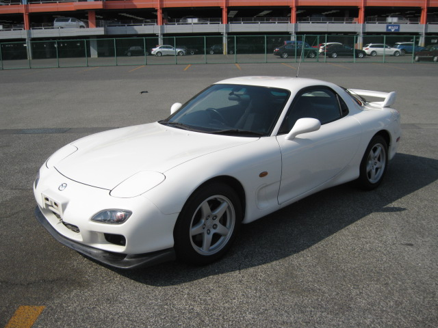 Mazda RX7 Type RB_Frontansicht 1
