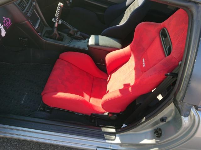 Nissan Skyline R34 GT-T_Beifahrersitz