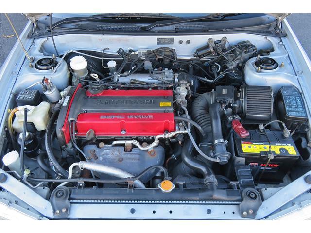 Mitsubishi Lancer Evo VI_Motorraum