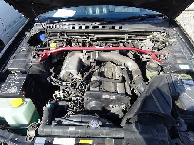 Nissan Skyline R33 GTS-T 1997 - Motorraum 1